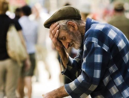 La paura della morte ci spinge a tener fuori dal nostro sguardo gli anziani.