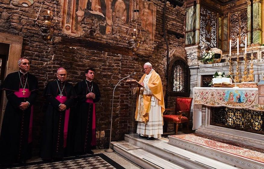 Papa Francesco a Loreto 24.03.2019