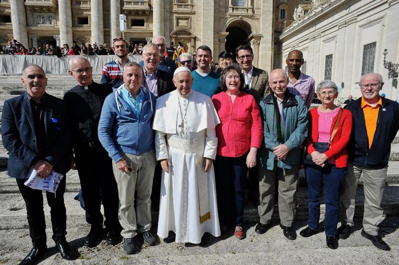 """""""I cattolici LGBT+ Westminster"""" incontrano Papa Francesco 06.03.2019"""