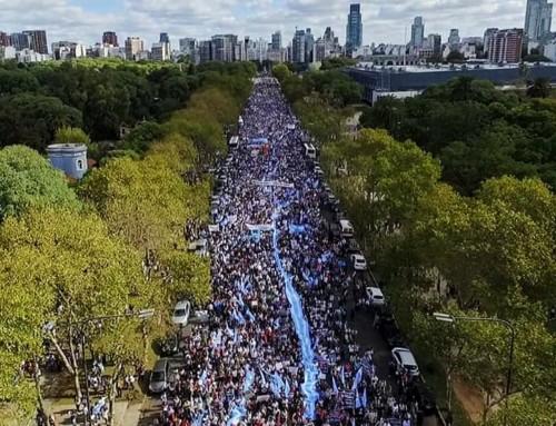 Argentina, quasi due milioni di partecipanti alla Marcia per la vita 2019