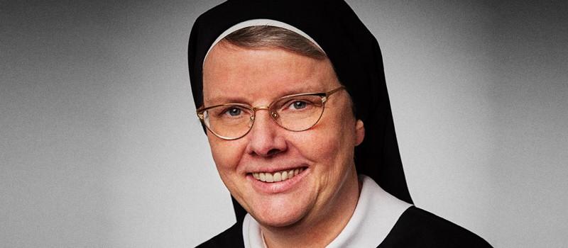 Suor Ruth Schönenberger, capo del Priorato benedettino di Tutzing