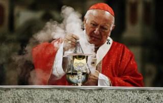 cardinale cileno Ricardo Ezzati, ex arcivescovo di Santiago