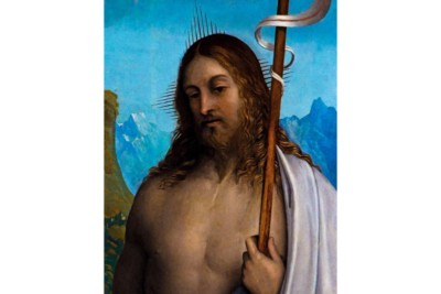 «Cristo risorto» di Giovanni Agostino da Lodi