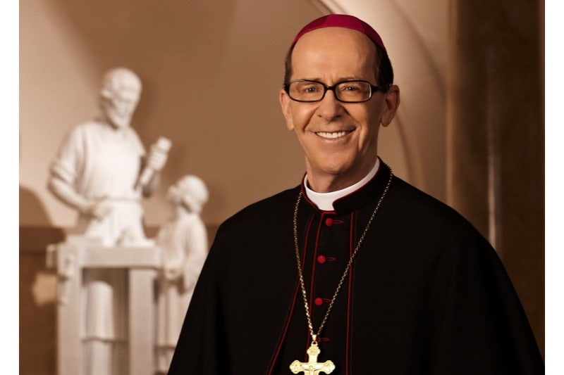 Mons Thomas Olmsted, vescovo di Phoenix (foto ripresa dal sito della diocesi)