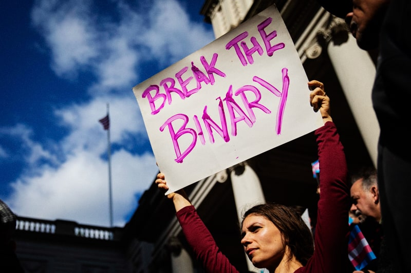 Break the binary (foto Getty Images)