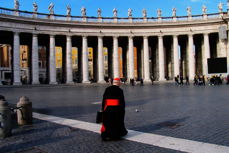 Piazza San Pietro (foto di Manuela Cacciaguerra / emblema)