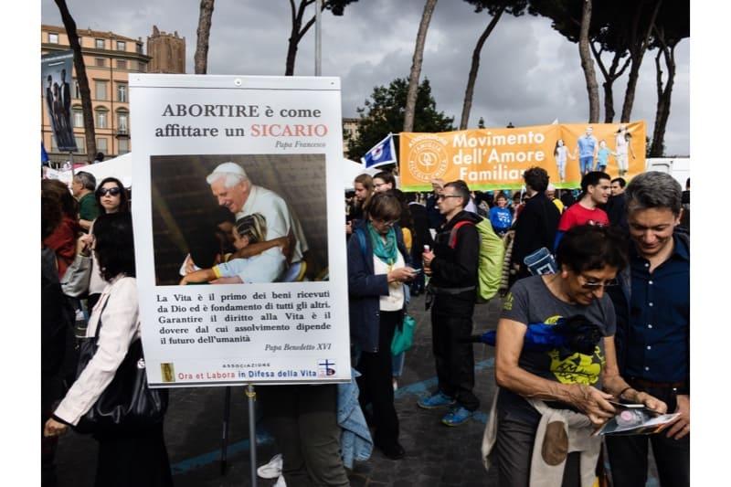 Marcia per la vita 2019, Roma, n. 2 - sostenitrice della vita, Pro life.