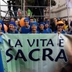 """Più che una Marcia per la vita è stata una """"festa per la vita"""", per dire forte """"SI' ALLA VITA!!!"""""""