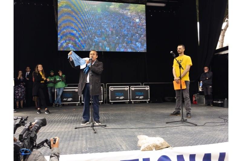Marcia per la vita 2019, Roma, Presidente del comitato Marcia per la vita dell'Argentina