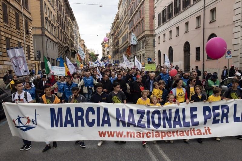 Marcia per la vita 2019, Roma