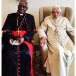 """Breaking: Il card. Sarah ha incontrato poco fa Benedetto XVI: """"Con il Papa Emerito Benedetto XVI non ci sono fraintendimenti"""""""