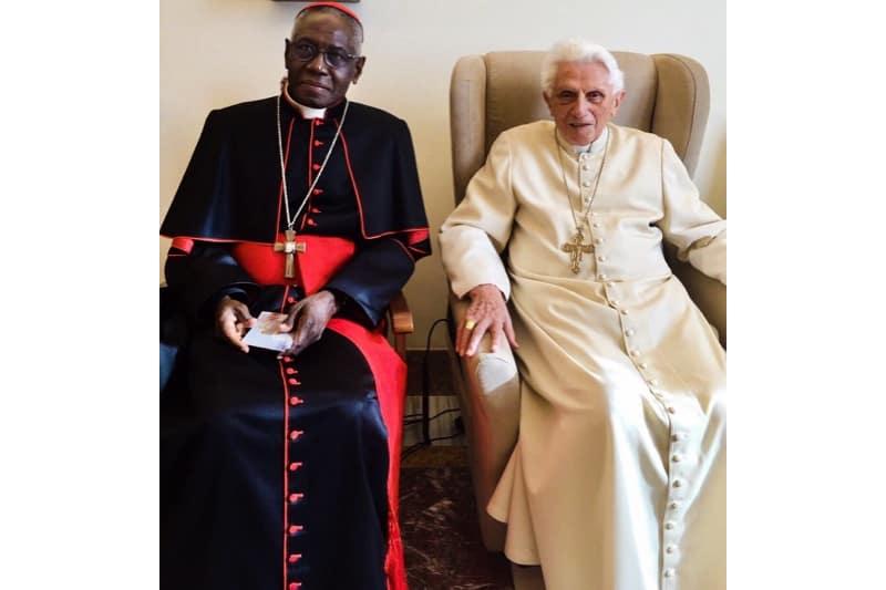 Card. Robert Sarah e Il Papa Emerito Benedetto XVI
