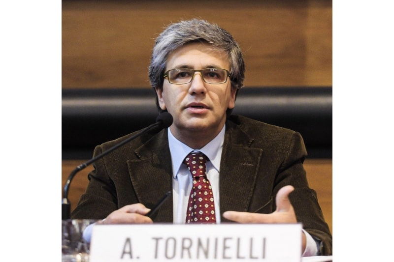 Andrea Tornielli, giornalista, è direttore editoriale del Dicastero per la comunicazione della Santa Sede.