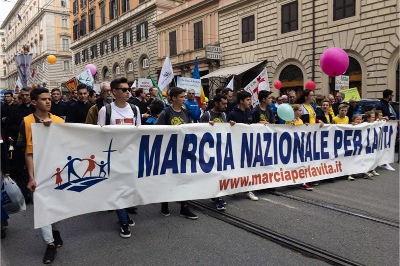Marcia per la vita 2019, Roma, n. 3