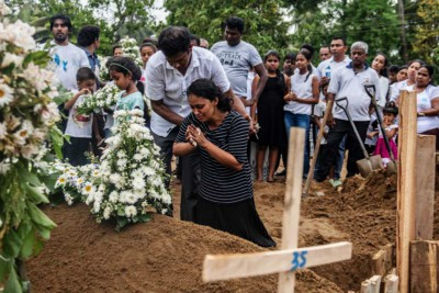 Sri Lanka, morte per attacco terroristico, 2019 (Carl Court - Getty Images)