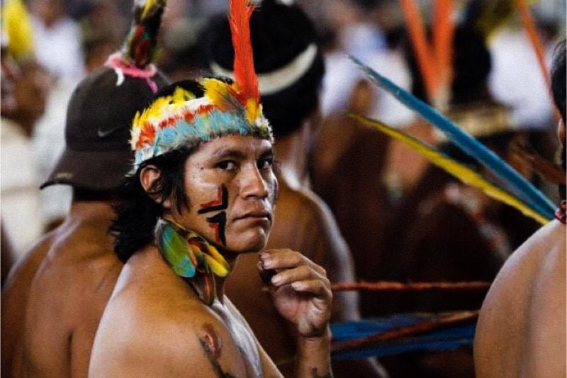 Indigeni dell'Amazzonia- (Credit: Paul Haring/CNS.) via Cruz Now