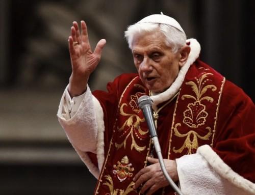 Papa Benedetto XVI: Dio non minaccia la libertà dell'uomo