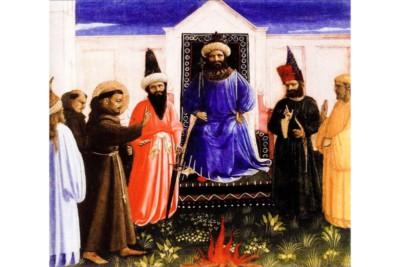 San Francesco incontra il sultano