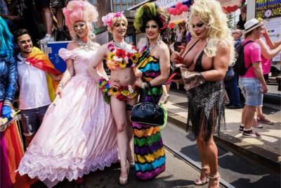 Gay Pride, partecipanti