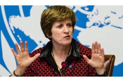 Alto Commissario delegato delle Nazioni Unite per i diritti umani Kate Gilmore
