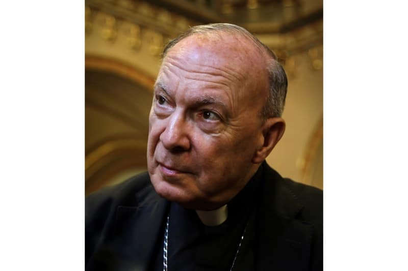 L'Arcivescovo Andre-Joseph Léonard, già Primate del Belgio