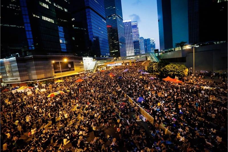 Protesta ad Hong Kong