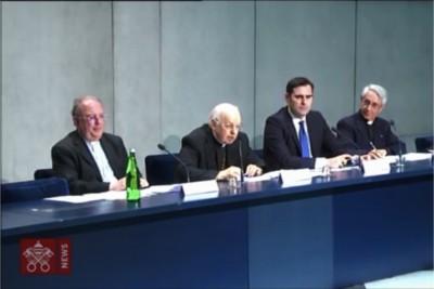 Conferenza stampa presentaz Instrumentum laboris Sinodo Amazzonia