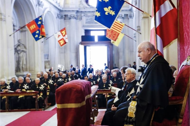 Fra' Giacomo Dalla Torre Gran Maestro dell'Ordine di Malta (CNS photo/Order of Malta via Catholic Herald)