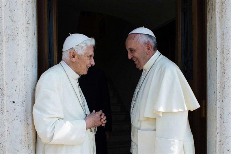 Papa Francesco ed il Papa emerito Benedetto XVI
