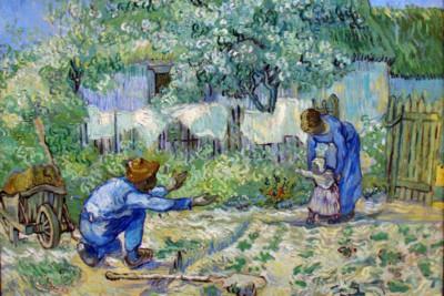 Primi Passi di Vincent Van Gogh 1890