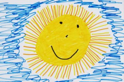 disegno del sole
