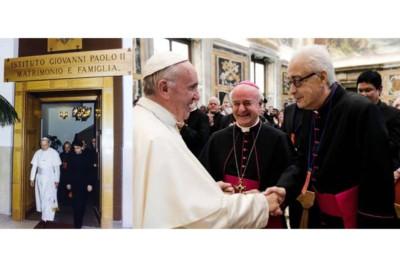 Istituto Giovanni Paolo II, Giovanni Paolo II, Papa Francesco, Mons. Sequeri, mons. Paglia