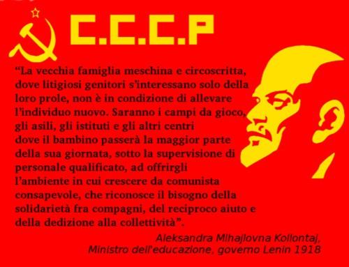 Sono 100 anni che i comunisti si occupano dei figli degli italiani.