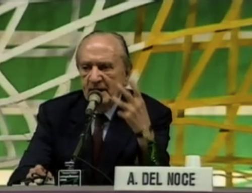 """Del Noce: """"Quel nichilismo gaio che oggi ha il suo simbolo nella omosessualità"""""""