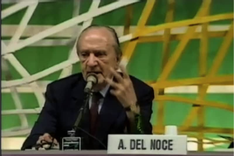 Augusto Del Noce, screenshot