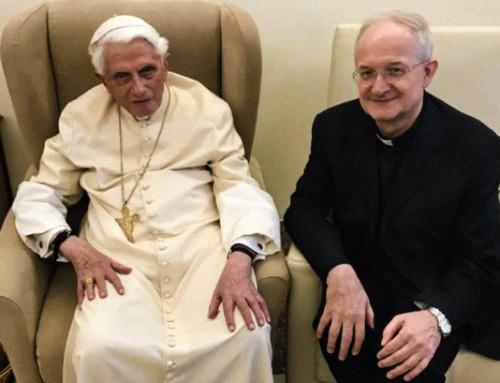 Nel mezzo delle controversie dell'Istituto GPII, il Papa Emerito Benedetto XVI incontra Melina