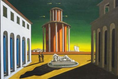 Giorgio De Chirico - piazza