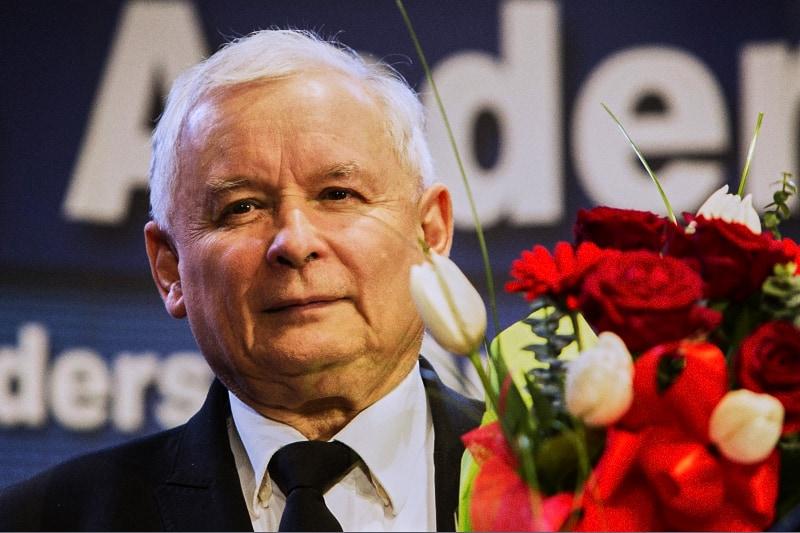 Jaroslaw Kaczynski, leader del Partito polacco per il Diritto e la Giustizia (PiS)