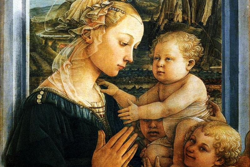 Madonna di Filippo Lippi - Uffizi - Firenze