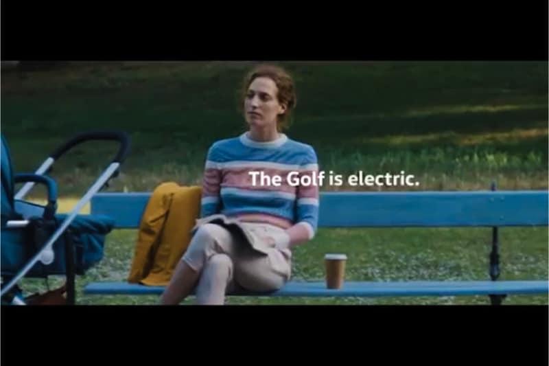 Pubblicità della Golf vietata (screenshot)