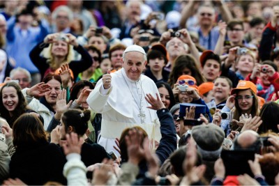 Papa Francesco in Piazza San Pietro