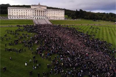 Marcia per la vita Irlanda del Nord settembre 2019