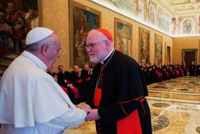 Papa Francesco ed il Card. Marx.