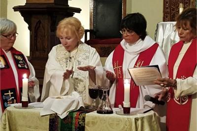 sacerdotesse protestanti