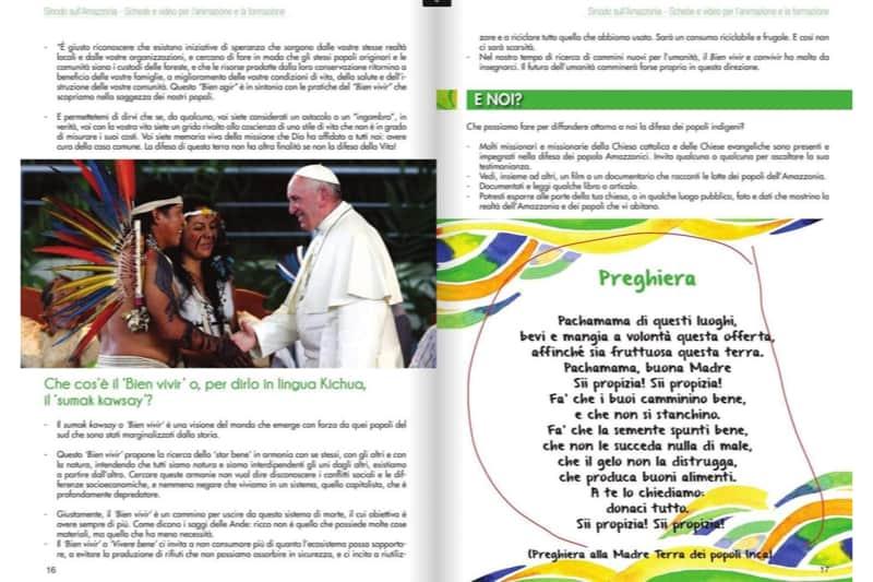 Fondazione Missio: materiale preparatorio Sinodo Amazzonia