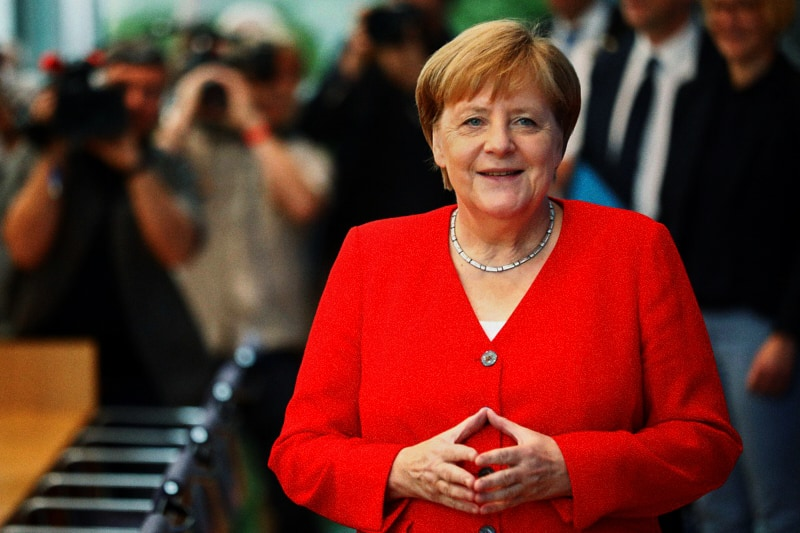 Angela Merkel (foto: Reuters)