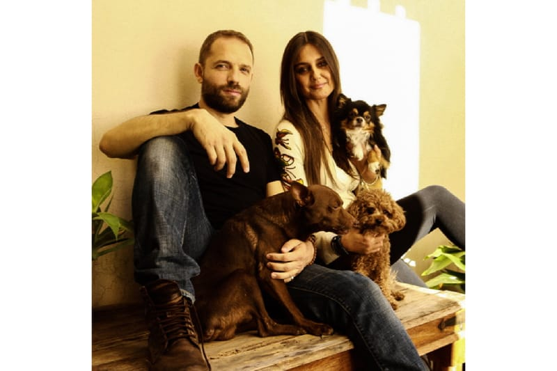 Angelo Vaira e Rosita Celentano (foto via Corriere della sera)