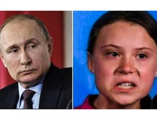 Putin rimprovera Greta Thunberg e i suoi consiglieri sull'agenda ambientale