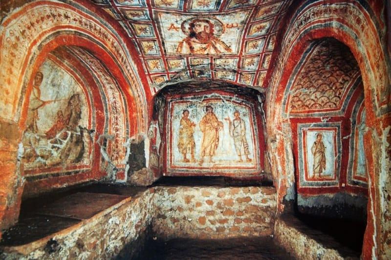 Catacombe di Santa Domitilla - Roma