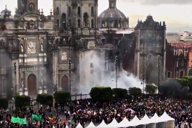 Cattedrale Cattolica di Città del Messico (screenshot)